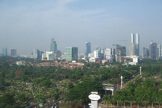 The Park Lane Jakarta: view from my room