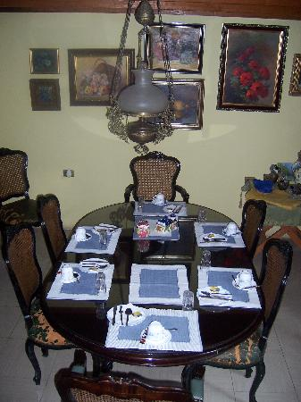 Hostal La Maja: Dining room