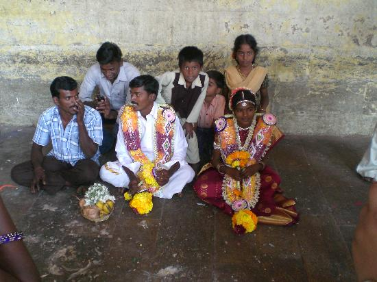 Madurai, India: Wedding Party