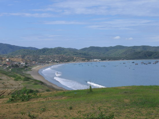 Ekvador: Bay at Puerto Lopez
