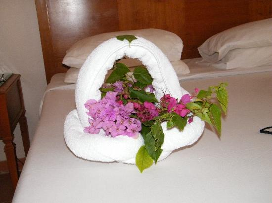 Coral Sea Sensatori - Sharm El Sheikh : Towel flower basket