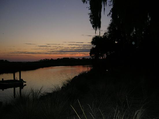 The Lodge on Little St. Simons Island: Sunset