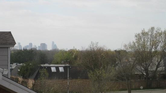 HYATT house Dallas/Lincoln Park: View towards downtown Dallas
