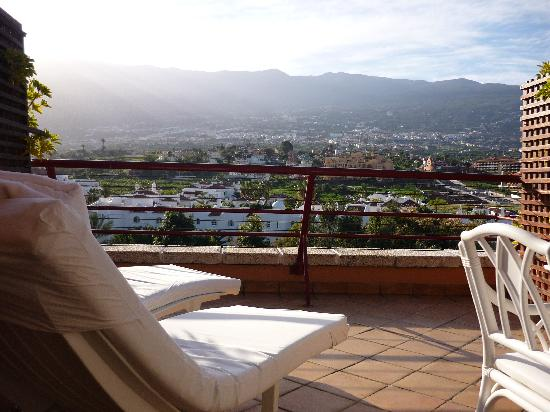 Hotel Botanico & The Oriental Spa Garden : Penthouse room terrace