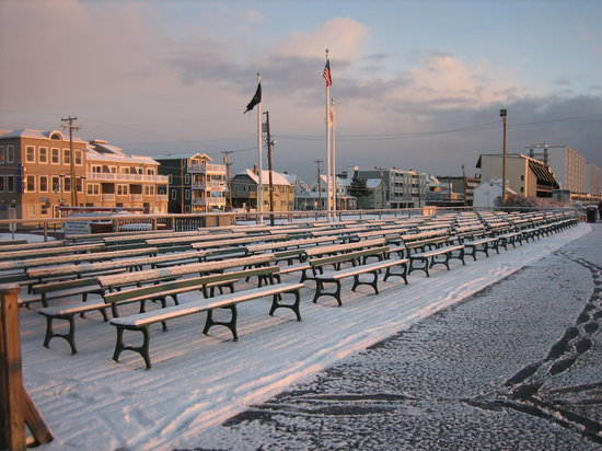 Sea Isle City, Nueva Jersey: Promenade at JFK