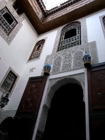 Riad Boujloud: Courtyard