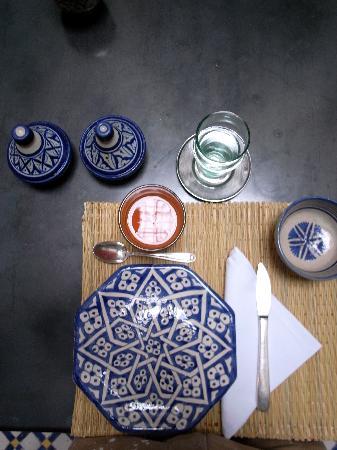 Riad Boujloud: Ceramic morning set