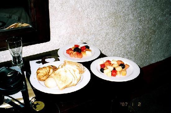 Hotel Museo Spa Casa Santo Domingo: breakfast - room service