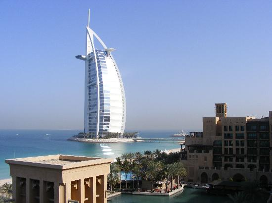 Jumeirah Mina A' Salam: The view from our 5th Floor Min A Salam room