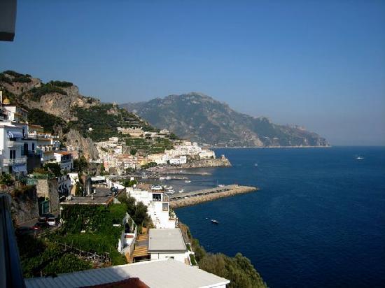 Santa Caterina Hotel : View from balcony