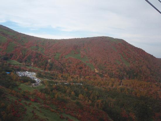 Nasudake, chausudake Mountain : ロープウェイからの眺め