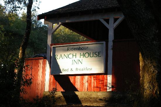 Sonoma Orchid Inn: The former name (Ridenhour)