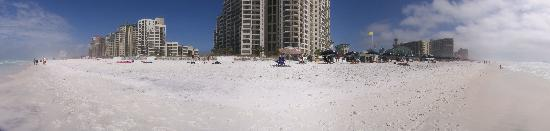 Residence Inn by Marriott Sandestin at Grand Boulevard: 180 Degree Panorama Of Beach and Adjoining Condos