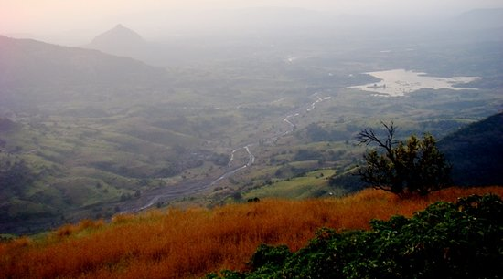 Matheran, Indien: View from Hart Pt