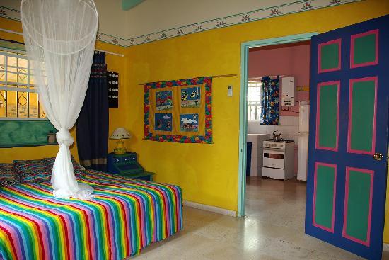 Coco Palm Garden & Casa Oleander: Bedroom at Kas contentu