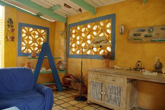Coco Palm Garden & Casa Oleander: Porch at Kas contentu