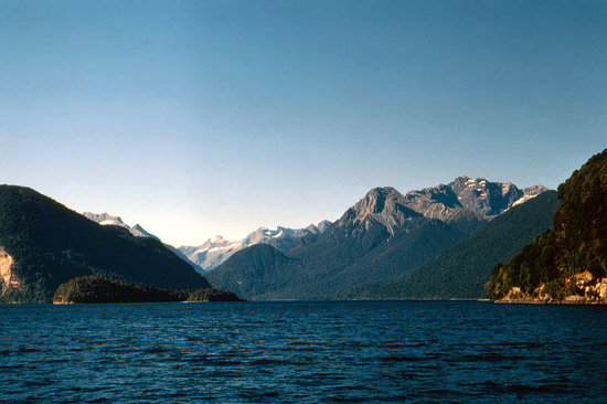 Lake Te Anau : Head of the lake