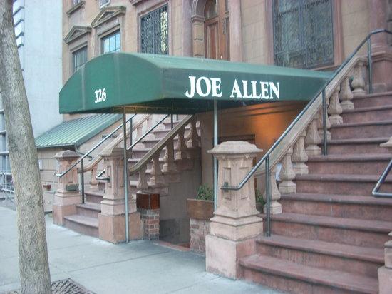 Joe Allen's Awning