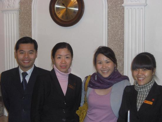 Hanoi City Palace Hotel: The INCREDIBLE staff