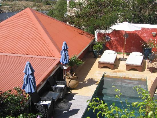 Sol e Luna Romantic Inn: pool from balcony