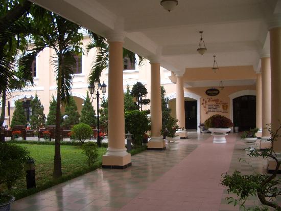 Hotel Saigon Morin: les jardins