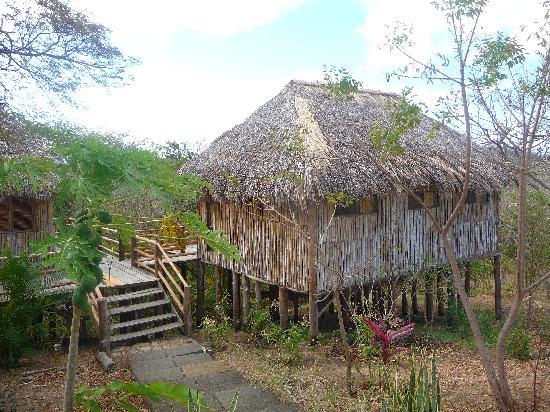 Empalme a Las Playas: Our cabana at the Empalme.