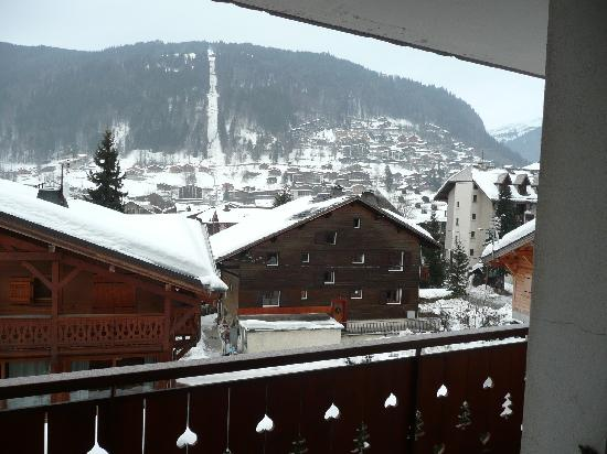 Hotel Igloo : view from room 4