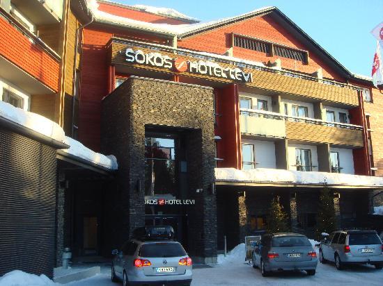 Break Sokos Hotel Levi: Front of hotel
