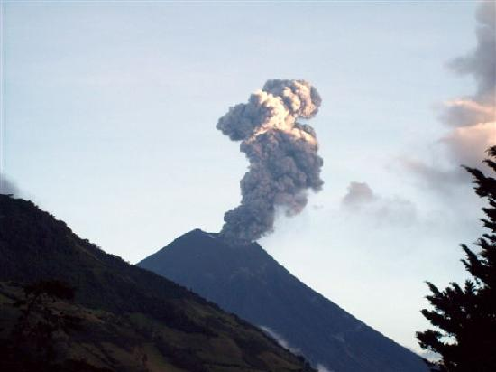 Hacienda Leito: Tungurahua Volcano