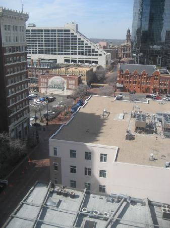 Courtyard Fort Worth Downtown/Blackstone: Sundance Square, view from 1305