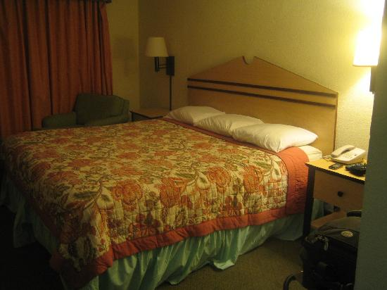 Nassau Palm Hotel: King size bed