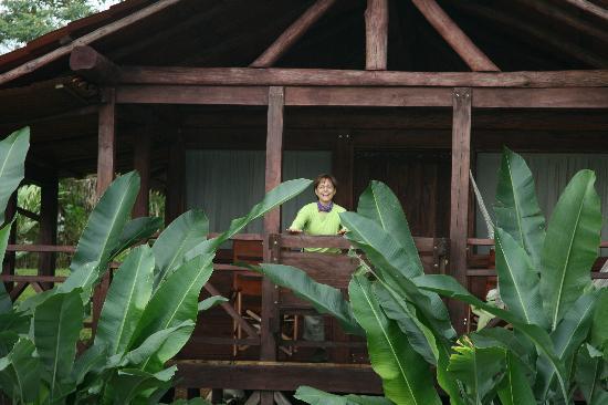 La Anita Rainforest Ranch: Happy Camper