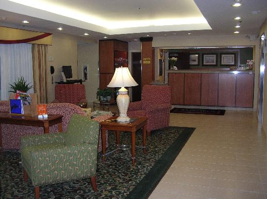 Fairfield Inn & Suites Dulles Airport Chantilly : Attractive furnishings