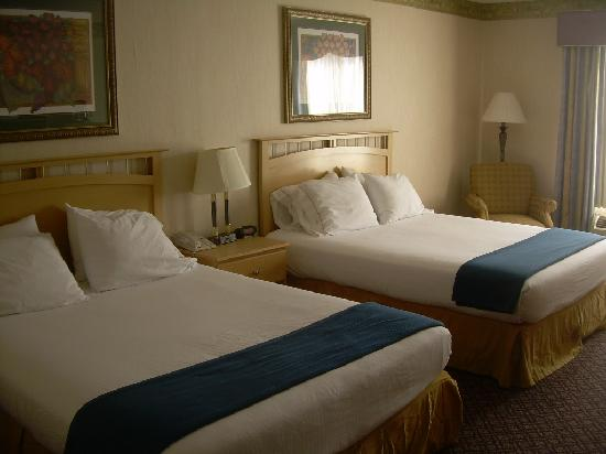 Holiday Inn Express Hotel & Suites Christiansburg : Room with double beds