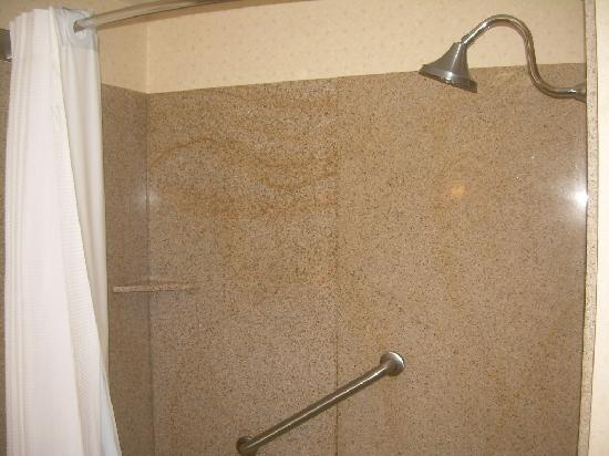 Holiday Inn Express Hotel & Suites Christiansburg : Bathtub/Shower