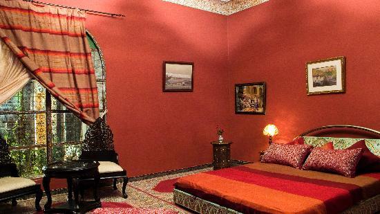 Riad Meknes: la habitación donde dormiamos...