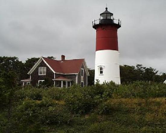 Nauset Lighthouse was moved in 1996