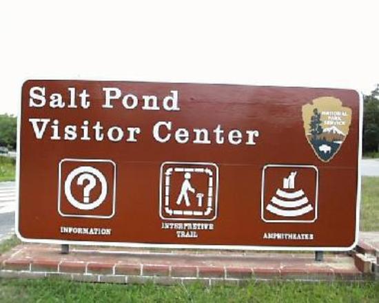 Salt Pond Visitor Center sign