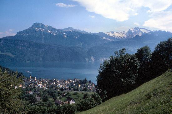 Gersau and Lake Luzern