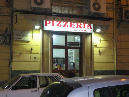 L'Antica Pizzeria da Michele: 店の外観です