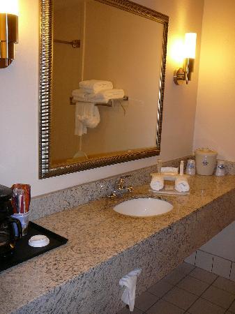 Country Inn & Suites by Carlson: Bathroom at Holiday Inn Express Abingdon