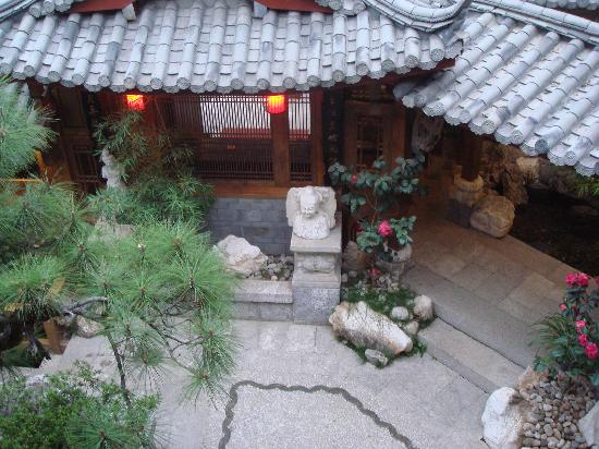 Zen Garden Hotel (Lion Mountain Yard): View of the Courtyard