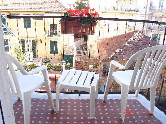 Hotel Aida: View form bedroom balcony
