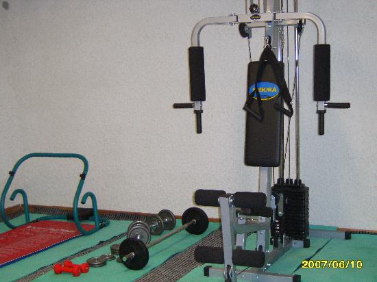 Alkion Hotel: Weight Room