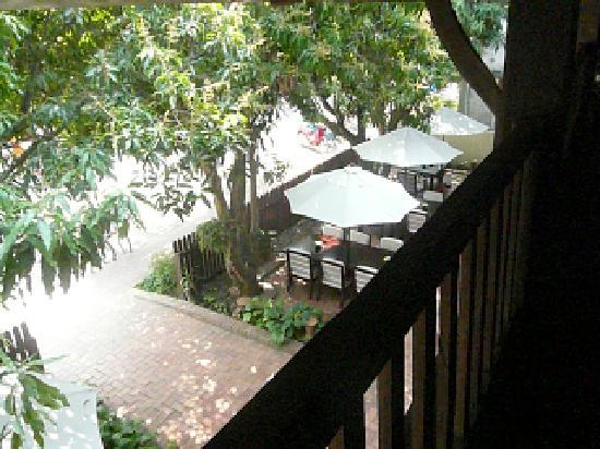 Hotel 3 Nagas Luang Prabang MGallery by Sofitel: Blick vom Balkon