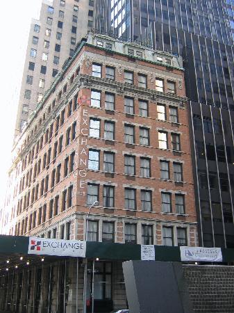 Eurostars Wall Street: Hotelansicht