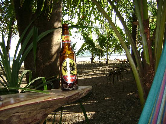 Fenix Hotel - On The Beach: My husband's idea of a beer commercial?