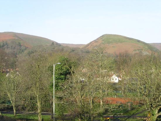Church Stretton, UK: Morning view from Room 3