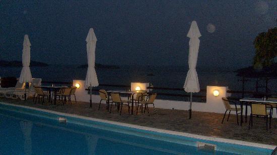 Villa Apollon Skiathos : Wonderful Evening