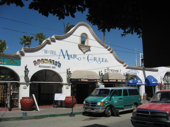 Hotel Mar de Cortez: Street scene